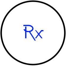Prescription lens icon