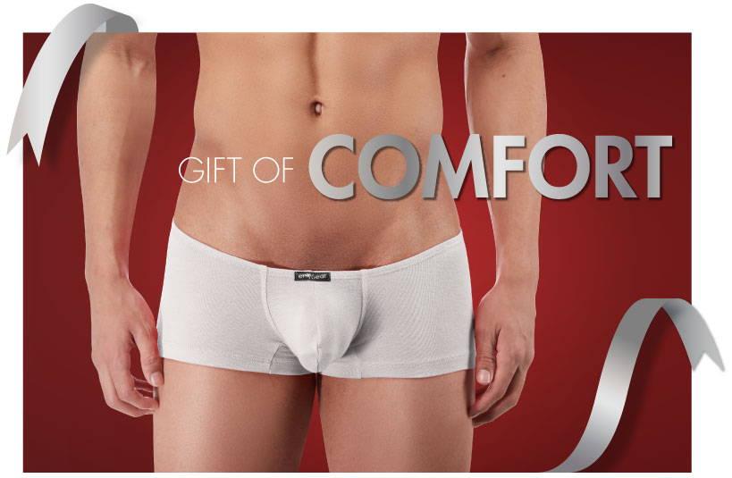 Comofortable Underwear makes a great gift.