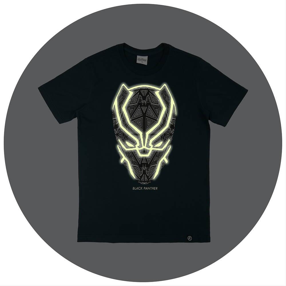 เสื้ดยืดเรืองแสงในที่มืด