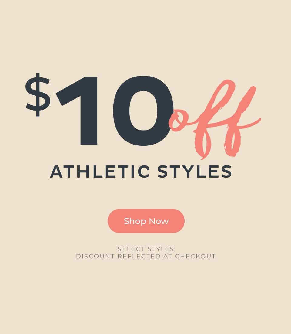 $10 Off Athletic Styles