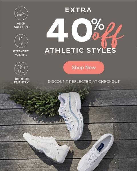 Extra 40% Off Athletic Styles