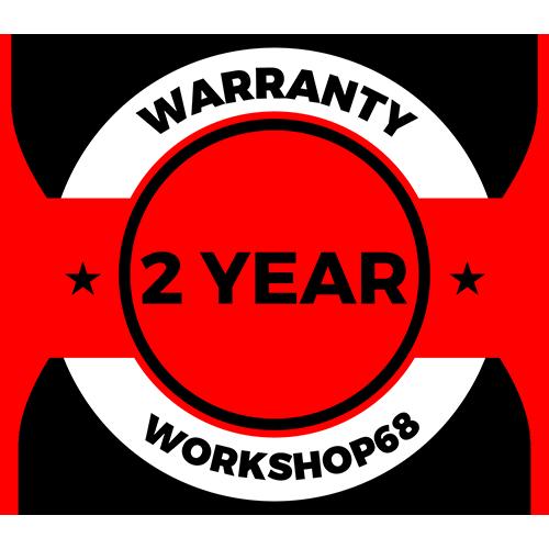 2-year warranty | Workshop68