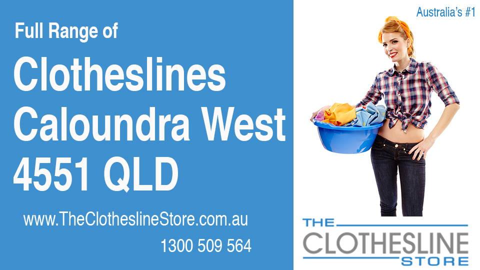 New Clotheslines in Caloundra West Queensland 4551