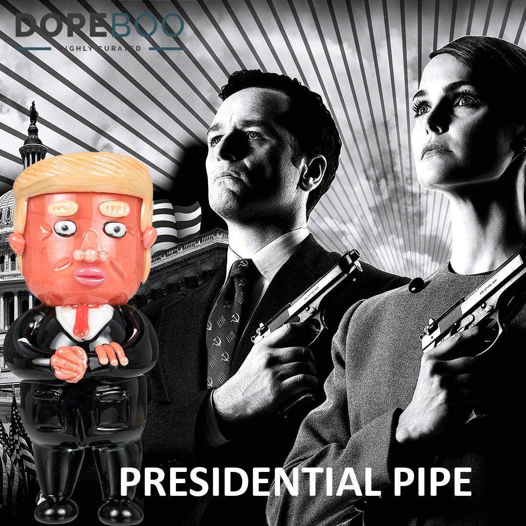 The Americans and Trump Presidential Pipe