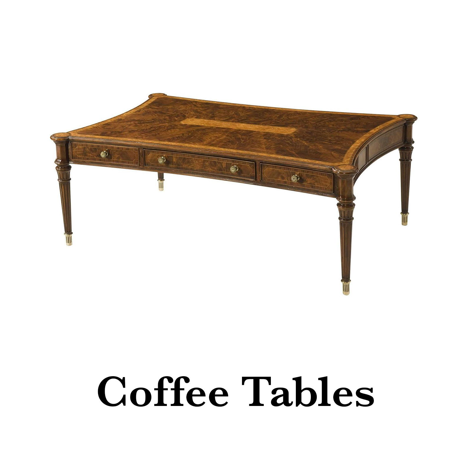 antique style coffee tables