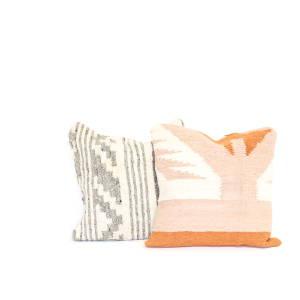Guatemalan wool cushion