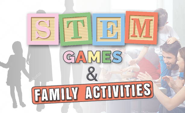 family games and stem blog banner