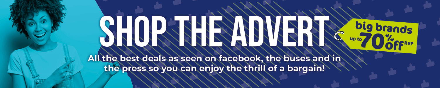 Shop The Ad - As Seen On Facebook, Buses & In Press