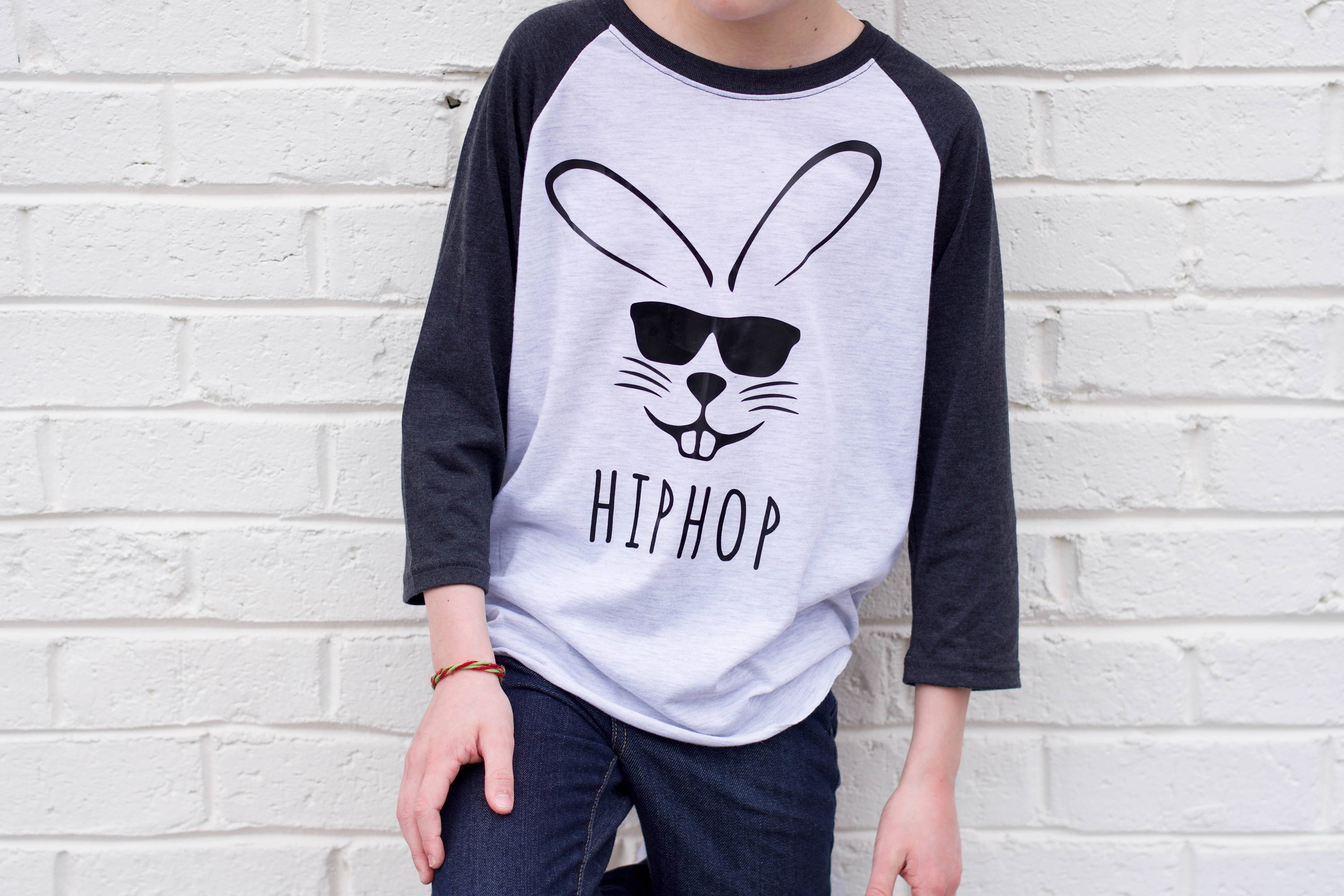 3b7d72bca ... how to create a trendy Easter themed kids tee using heat transfer vinyl  and the Cricut Maker. This quick and easy DIY is sure to get your kiddo  excited ...