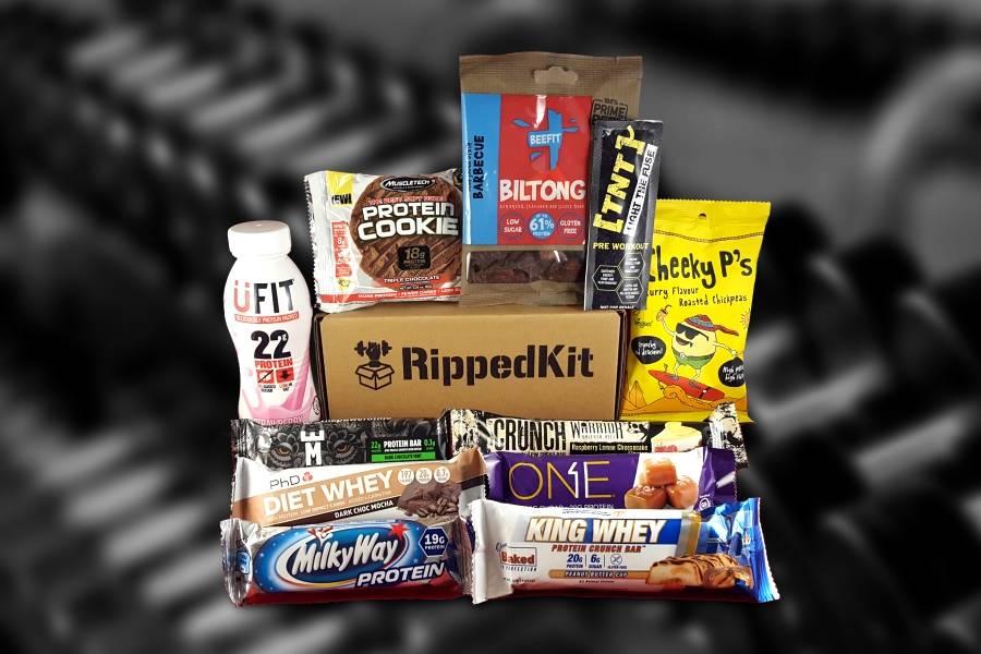 rippedkit protein snack box