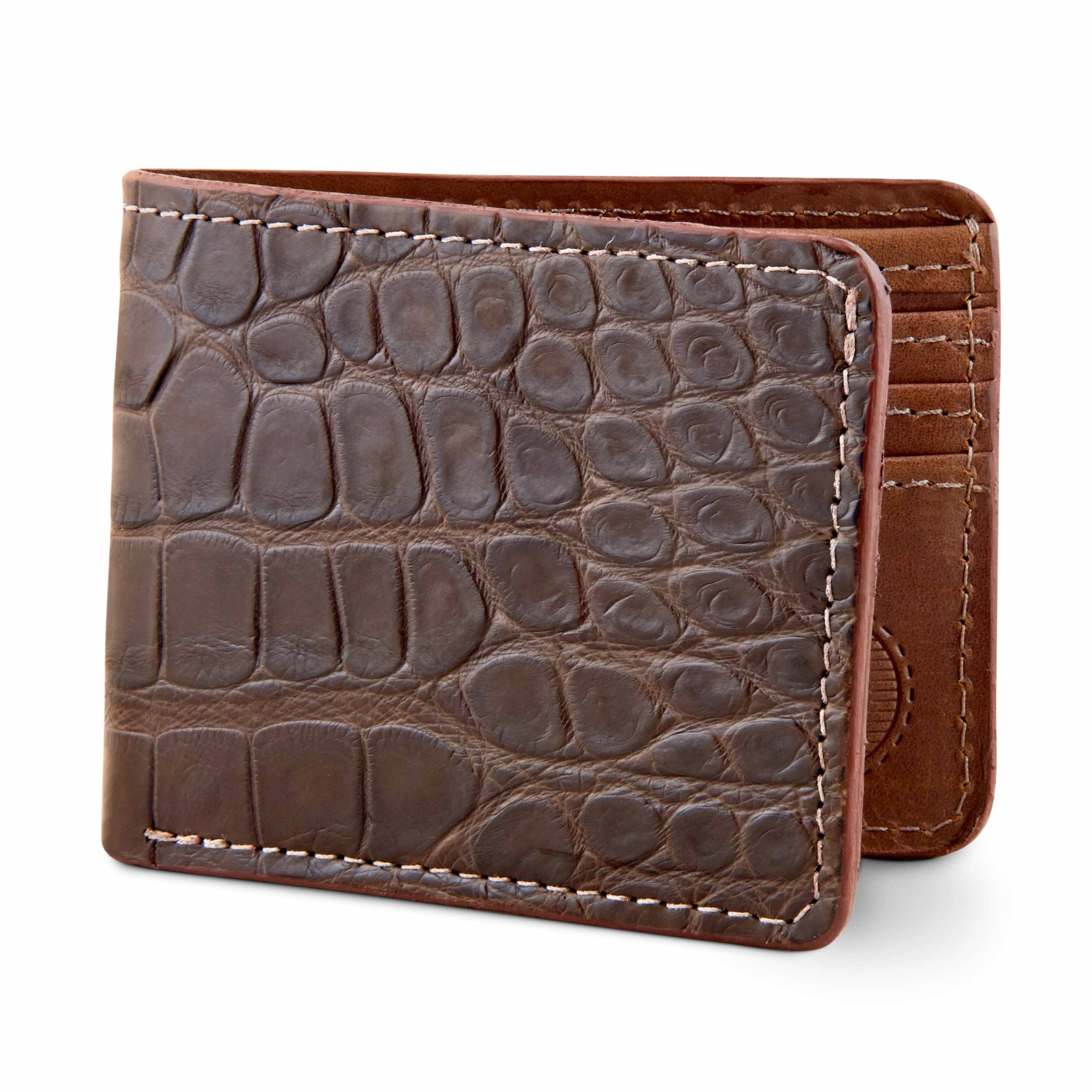 Classic alligator wallets