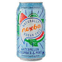 Nexba Watermelon, Cucumber and Mint Sparkling WAter 330ml