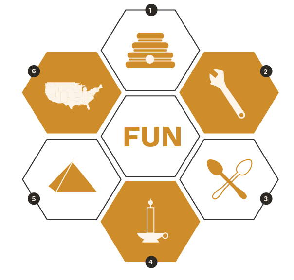 Infographic on why beekeeping can be fun!