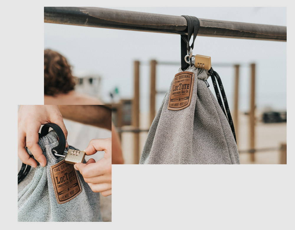 loctote lockable backpack