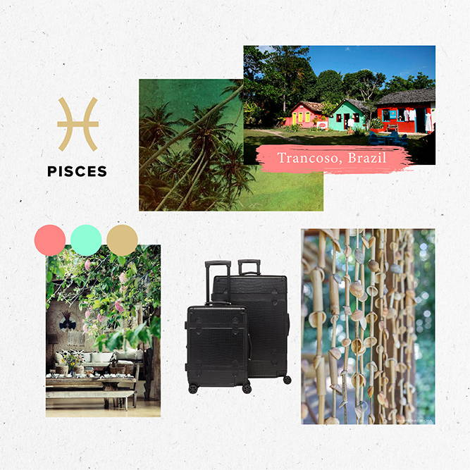 Horoscope, 2020, Travel, Pisces, trancoso, brazil