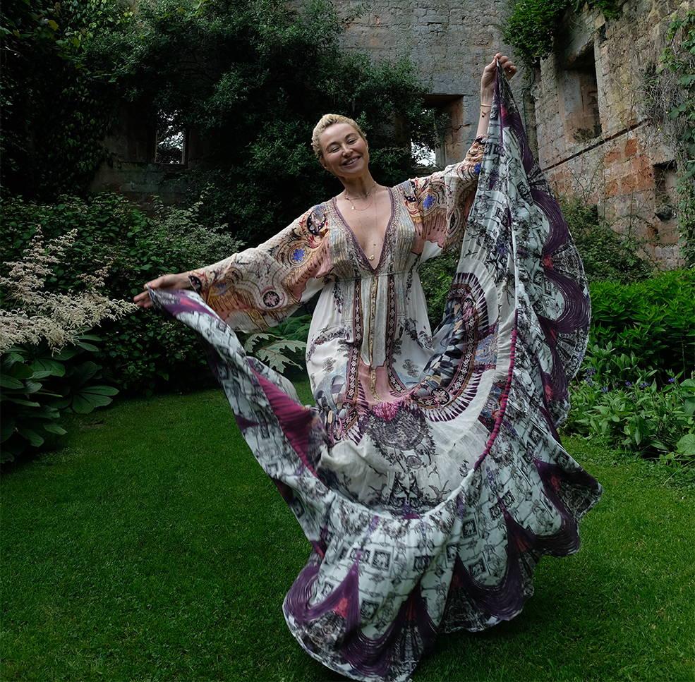 CAMILLA FRANKS wearing CAMILLA dress