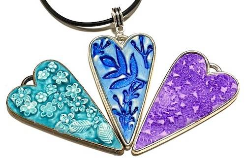 make your own jewellery pendants with polymer clay