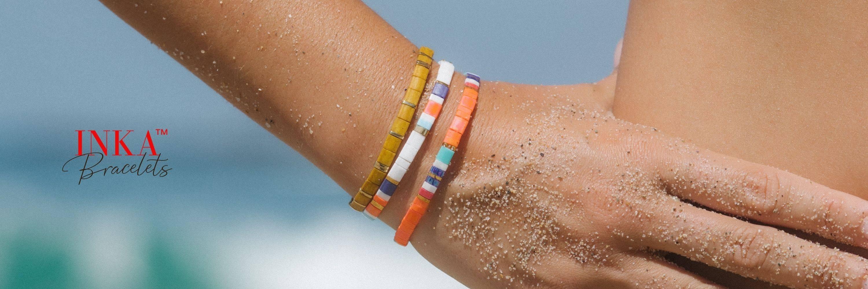 bracelets inka sejj en perles de verre du Japon