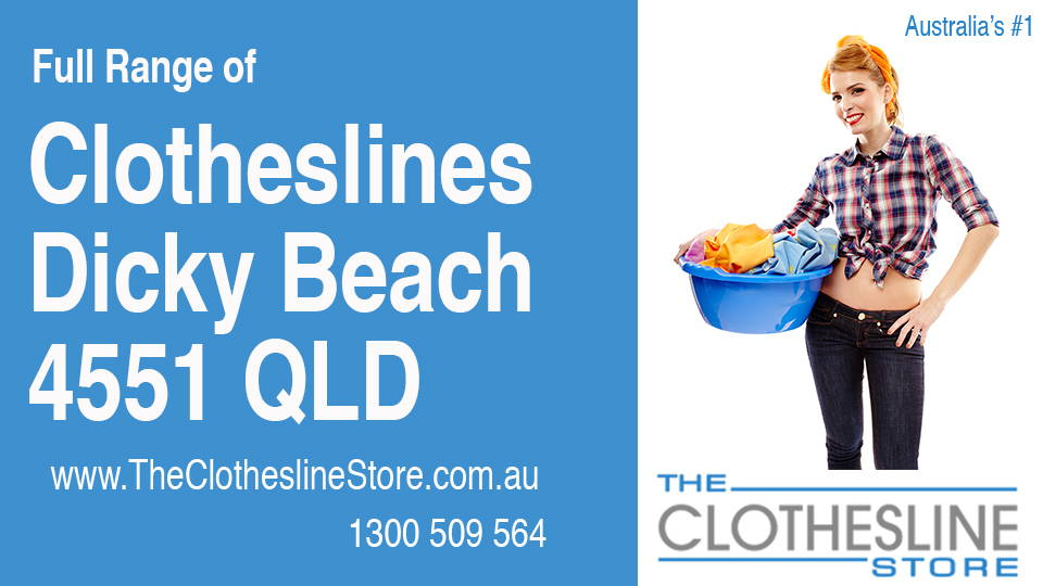 New Clotheslines in Dicky Beach Queensland 4551