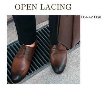 9c3134b356c You should be able to run your finger from the tongue to the top of the shoe.  Derby shoes are less formal ...