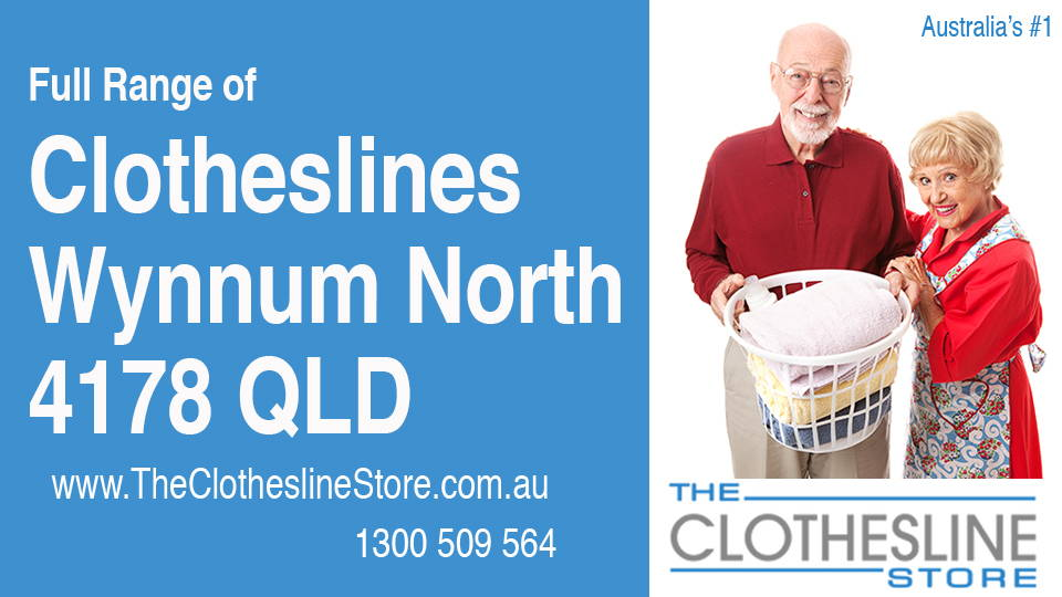 New Clotheslines in Wynnum North Queensland 4178