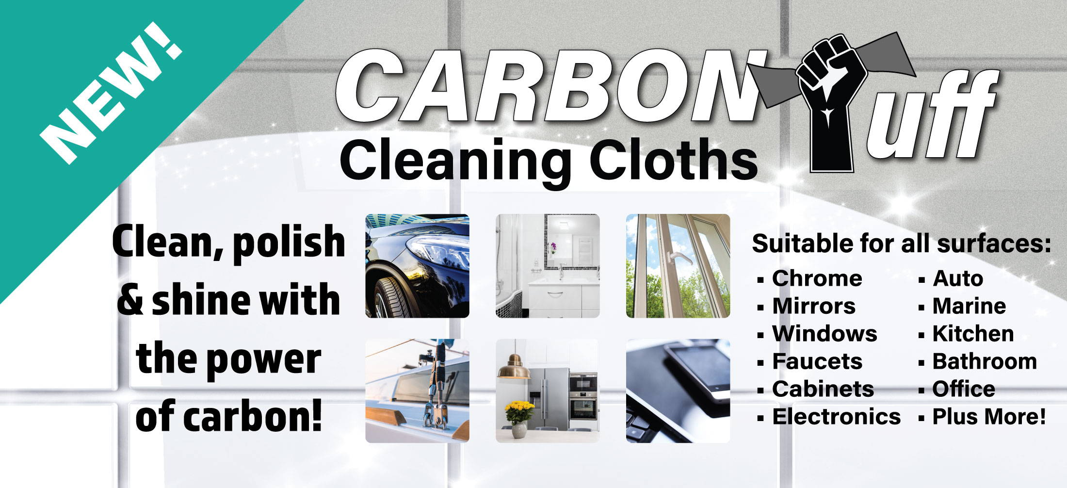 Carbon Tuff Cleaning Cloths