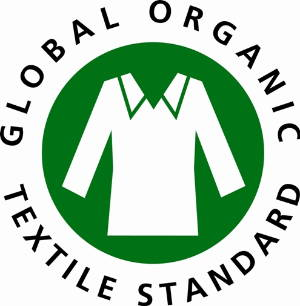 Logo of the Global Organic Textile Standard.