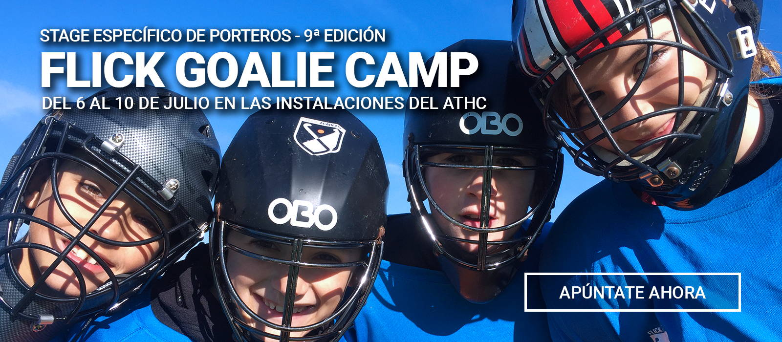 Apúntate al Flick Goalie Camp