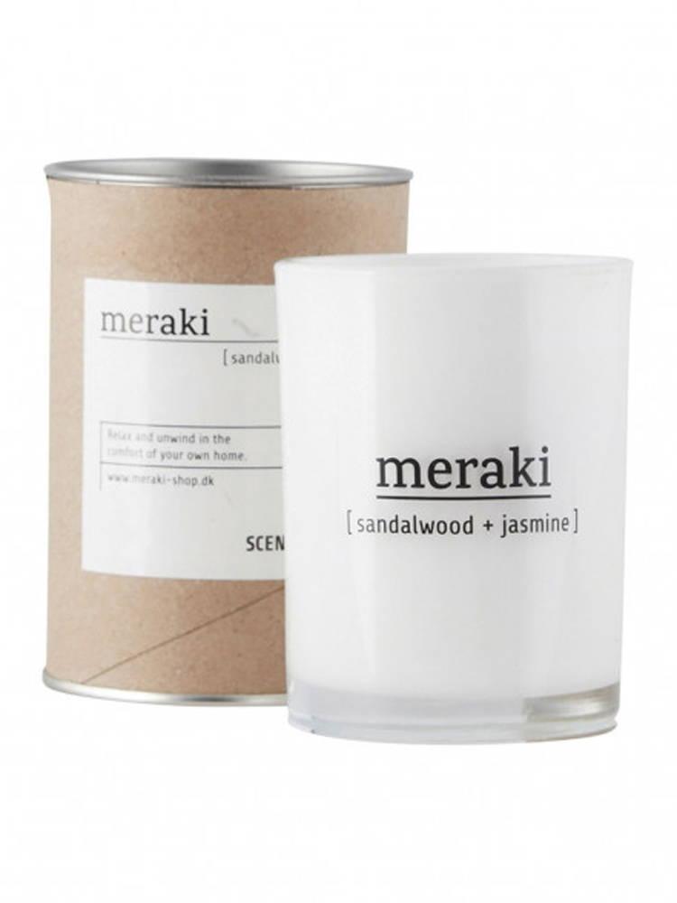 Meraki Sandalwood & Jasmine Scented Candle