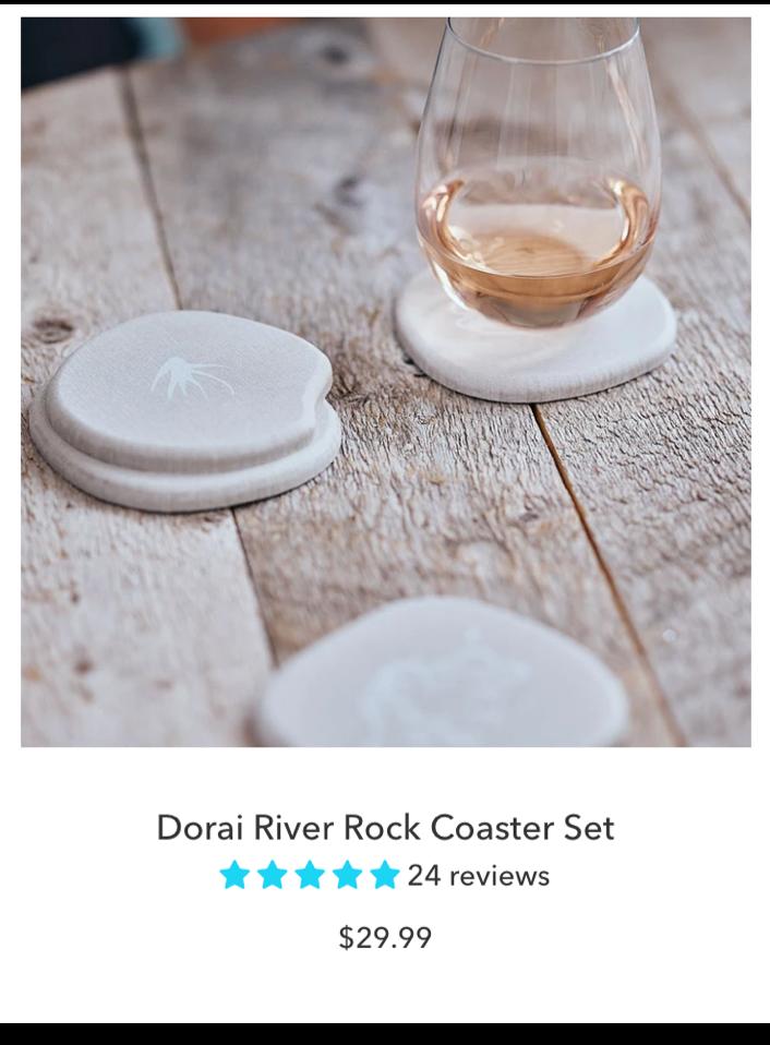 Dorai Modern Coaster Set