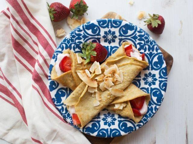 Ketogenes Rezept für Pfannkuchen