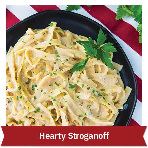 Hearty Stroganoff