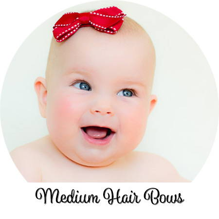 Babies with fine hair can wear our classic hair bows! Bald or not, we have styles to make her smile!