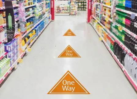 Printable graphic media for walls and wayfinding