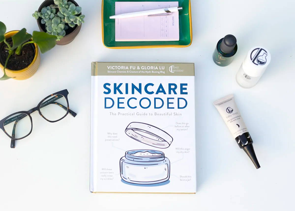 Chemist Confessions Skincare Decoded Book