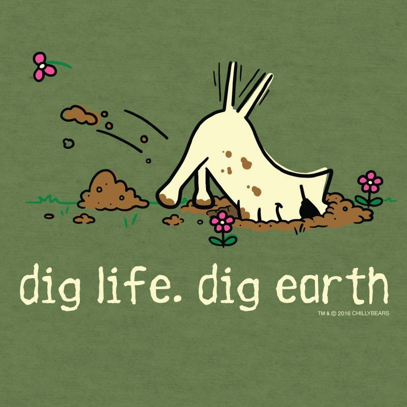 Shop teddy the dog dig life dig earth spring collection