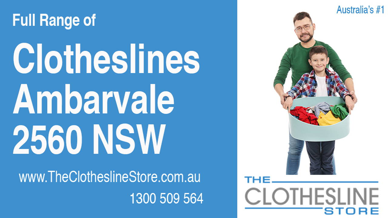 New Clotheslines in Ambarvale 2560 NSW