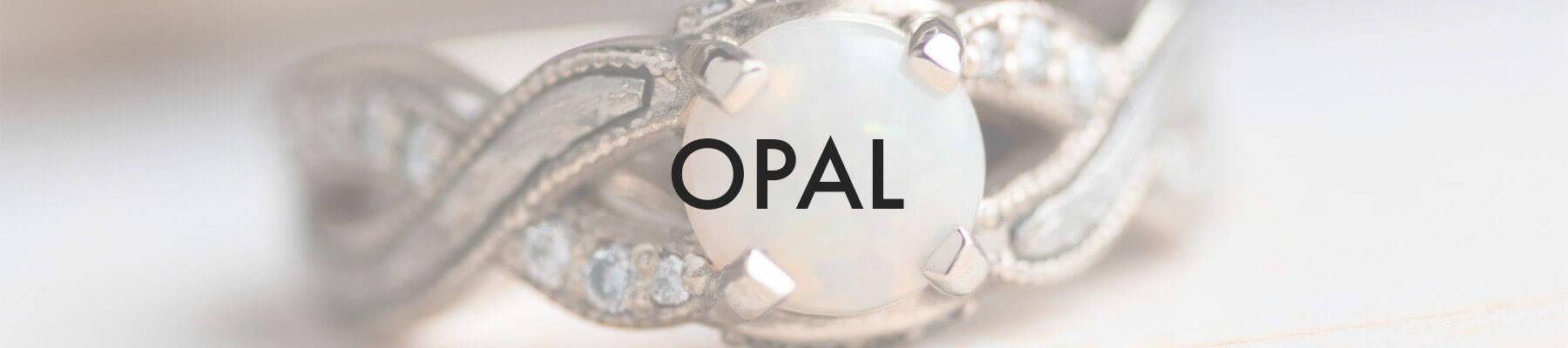 Opal Engagement Ring (SKU 3678)
