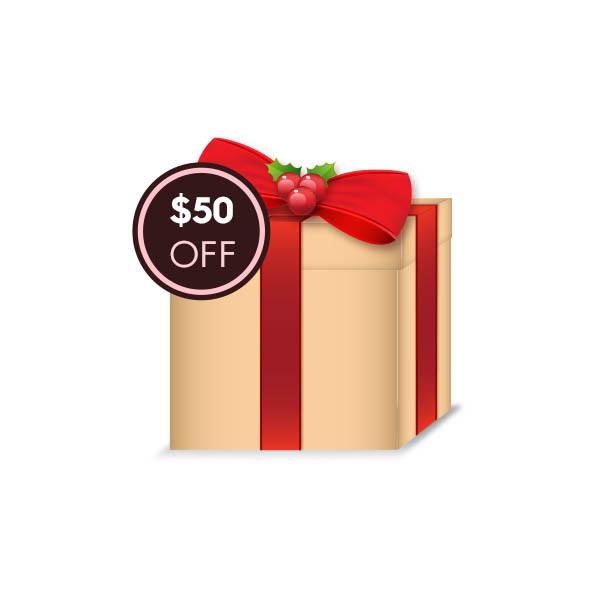 $50 OFF Gift Code