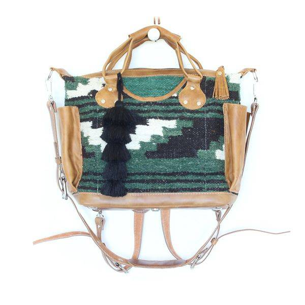 Guatemalan Wool Rug bag