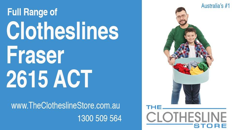 New Clotheslines in Fraser ACT 2615