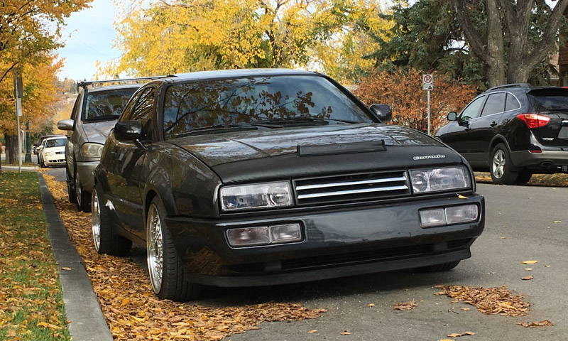 VW Corrado Tint Lamin-x fog light film covers