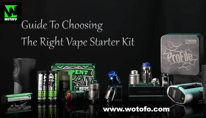 Guide To Choosing The Right Vape Starter Kit
