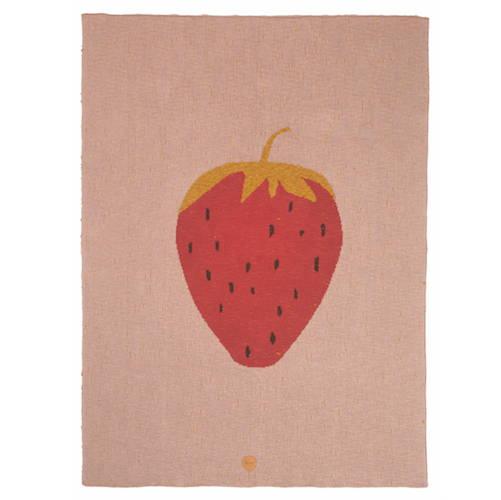Ferm Living Strawberry Blanket