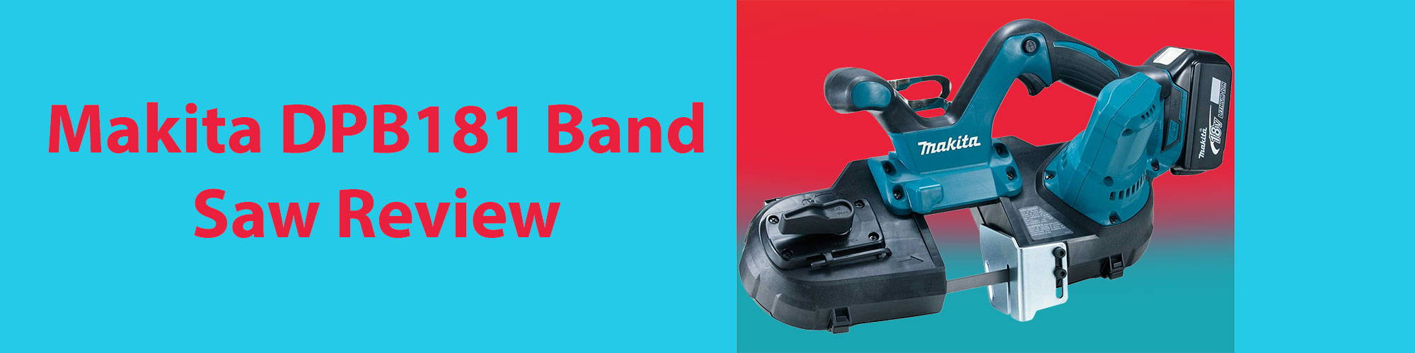 makita dpb181 band saw review