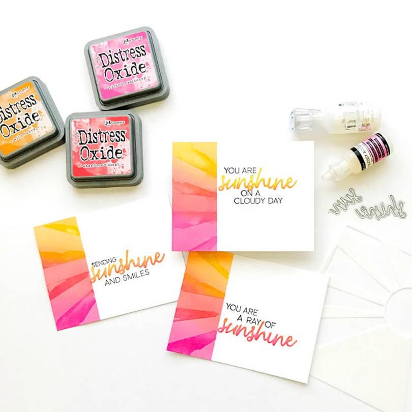 UWF Sending Sunshine cards by Carly Tee