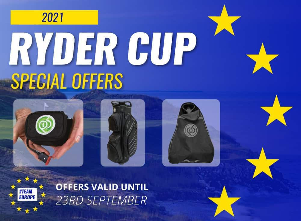PowerBug electric golf trolley Ryder Cup special offers