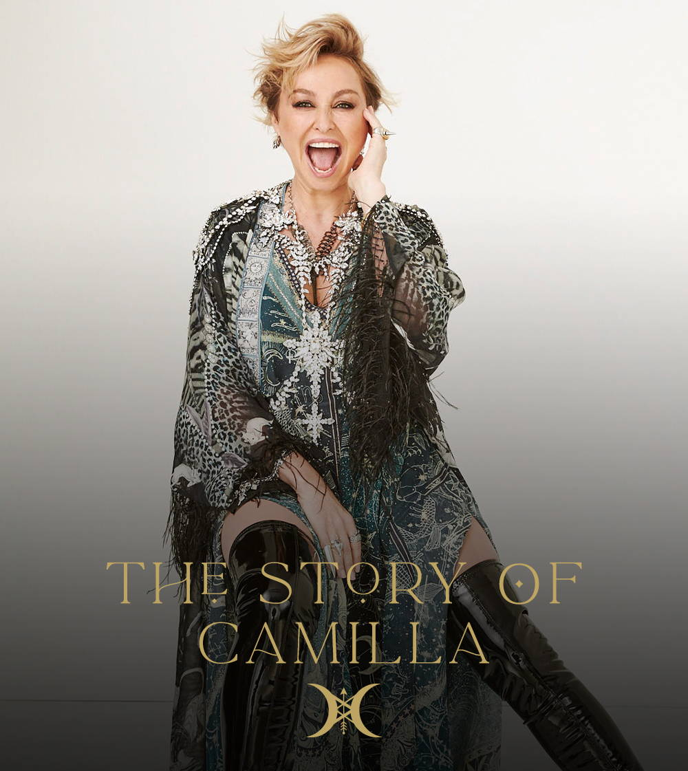 The Story Of CAMILLA | CAMILLA Franks wearing camilla