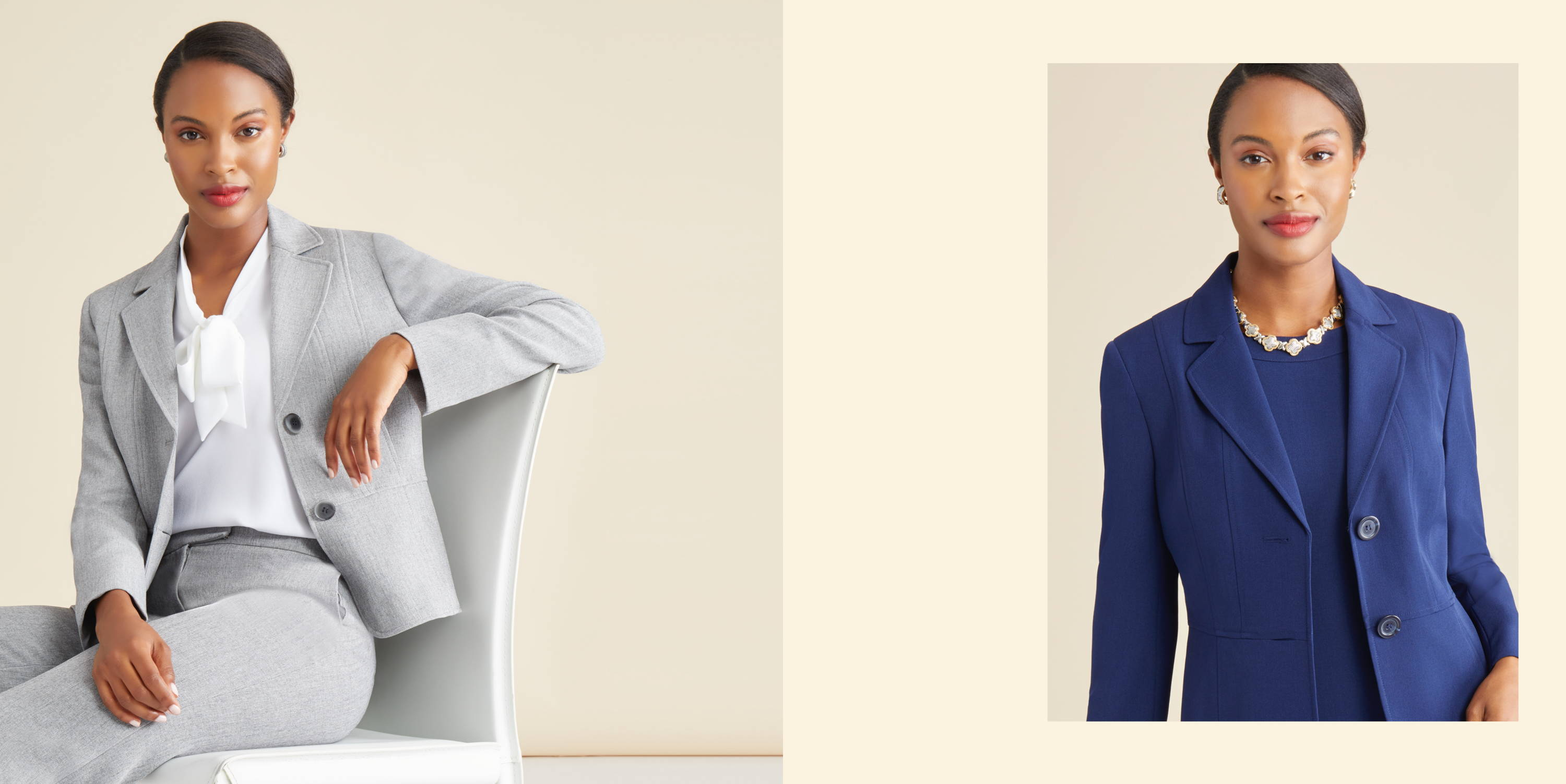 The Perfect Suit — Tailored Suiting for Women