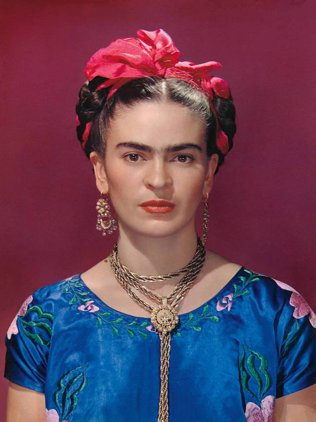 Frida Kahlo l Featured on This Week's Discoveries, a weekly blog from the team of handmade jewellery brand Wolf & Moon.